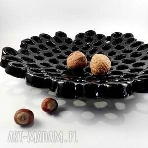 ceramika patera - ażurowa