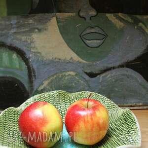 ręcznie wykonane ceramika patera ceramiczna glina i