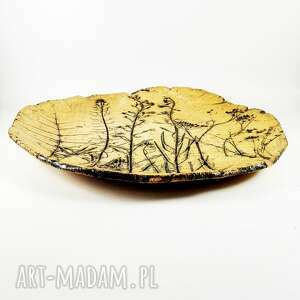 trendy ceramika patera ceramiczna kwiaty