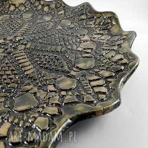 efektowne ceramika patera ceramiczna - korpnka