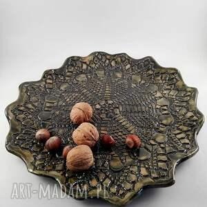 dom ceramika patera ceramiczna - korpnka