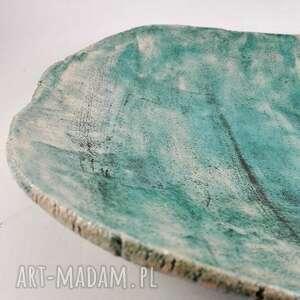 ceramika patera ceramiczna - morska