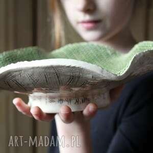 ręcznie wykonane ceramika homedecor patera ceramiczna glina i
