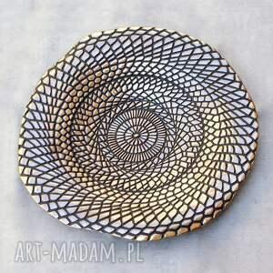 czarne ceramika misa patera ceramiczna