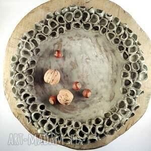 modne ceramika patera ceramiczna - natura