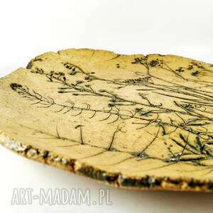 trendy ceramika dekoracje patera ceramiczna kwiaty