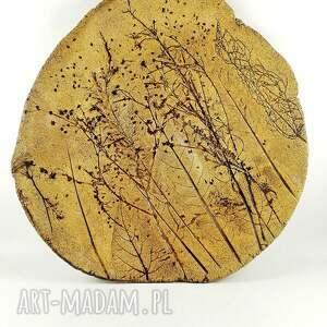 atrakcyjne ceramika sztuka patera ceramiczna