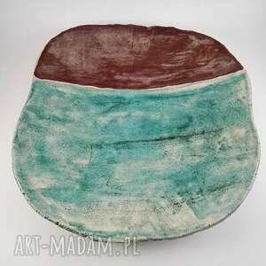 urokliwe ceramika patera ceramiczna - morska