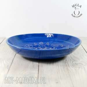 unikatowe ceramika owoce patera - misa sgraffito wielkanoc