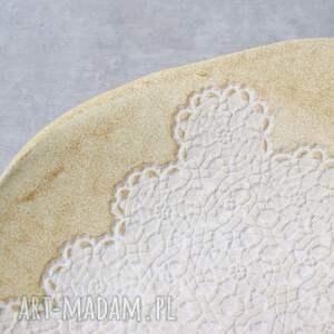 niebanalne ceramika patera rustic