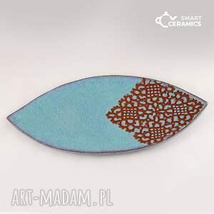 hand made ceramika prezent paterka ambra