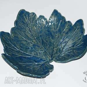 ręcznie robione ceramika patra liść
