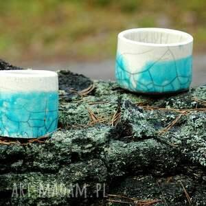 unikat ceramika pojemniki ceramiczne 2 szt. |
