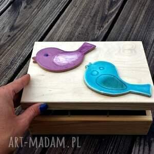 ceramika ceramiczny ptaszki ceramiczne bvw. dekoracja