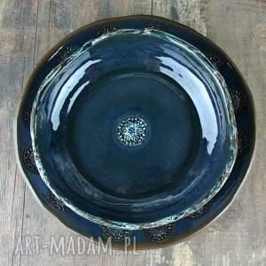 ciekawe ceramika talerz rosette zestaw naczyń
