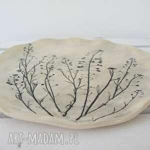 ceramiczna ceramika roślinna patera