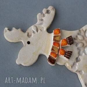 pomysł na świąteczne prezenty prezent rudolfik magnes ceramiczny