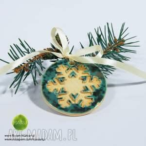 prezenty świętaŚnieżynki na Choinkę - śnieg boże