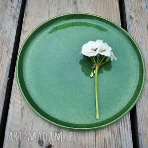 niebieskie ceramika talerz ceramiczny
