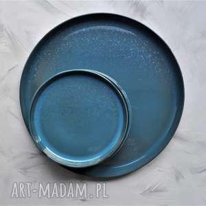 szare ceramika talerz ceramiczny - zestaw talerzy