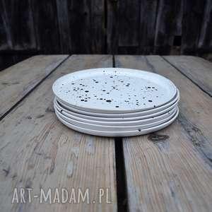ceramika białe talerz ceramiczny obiadowy - zestaw