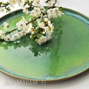 ceramika talerz - tafla jeziora