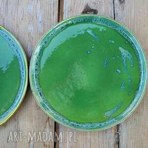 niekonwencjonalne ceramika talerz - zestaw talerzy dla dwojga