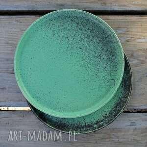 ceramika zestaw talerze ceramiczne matowe