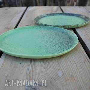 zestaw ceramika talerze ceramiczne matowe