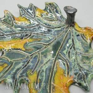 Santin Talerzyk dekoracyjny - Fantazyjny liść - wnętrze