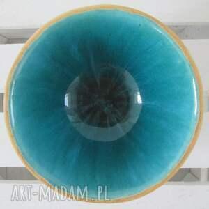 ceramika miska ceramiczna turkusowa miseczka