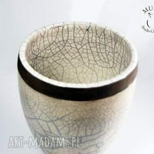 ceramika osłonka wazon na storczyk