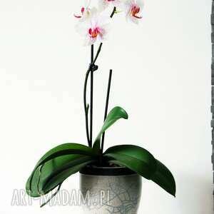 osłonka ceramika wazon na storczyk