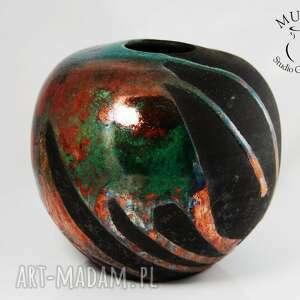 wyjątkowe ceramika raku wazon