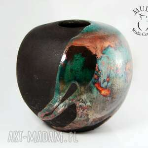 ceramika wazon raku