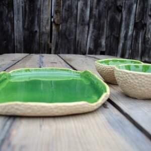 trendy ceramika talerz wyjątkowy zestaw: patera dwie