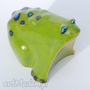 niekonwencjonalne ceramika figurki żabcia puszysta