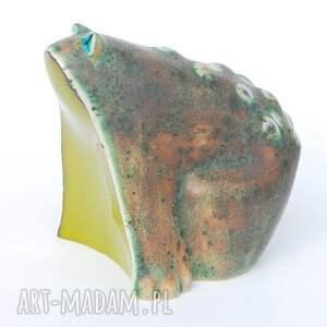 ceramika żabcia puszysta