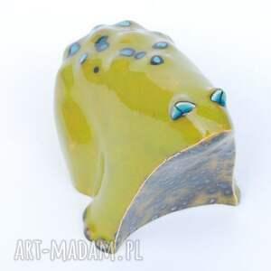 ceramika zwierzęta żabcia puszysta