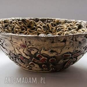 nietypowe ceramika misa zakręcona
