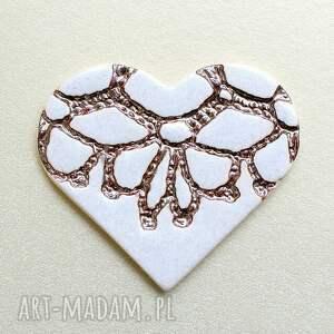 ręcznie wykonane ceramika serca zamówienie specjalne