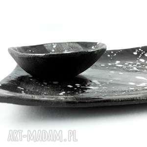 dekoracja zestaw ceramiczny do sushi