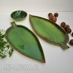 ceramika: liść-ceramiczny