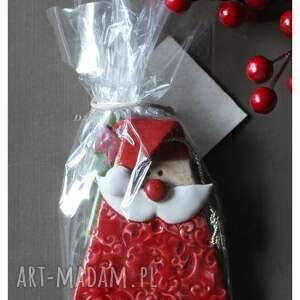 prezenty świąteczne ceramika zestaw mikołajkowy