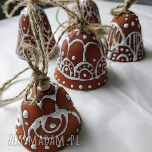 świąteczny prezent dzwoneczki zestaw pięciu dzwoneczków