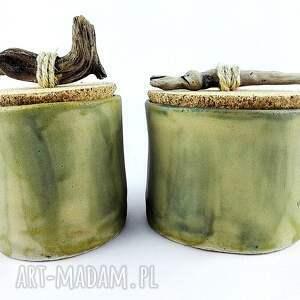 ceramika pojemnik zestaw pojemników ceramicznych