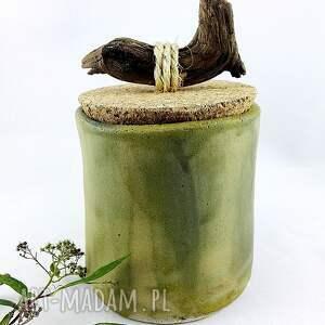 prezent ceramika zestaw pojemników ceramicznych