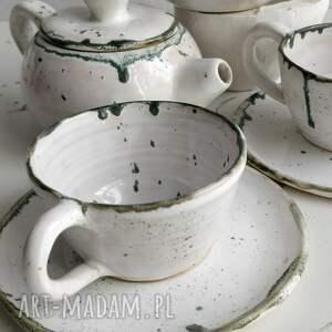 urokliwe ceramika zestaw składający się z dwóch