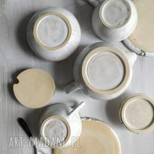 urokliwe ceramika prezent zestaw składający się z dwóch