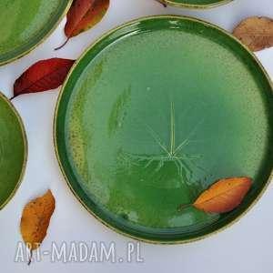 ceramika miska zestaw z winoroślą